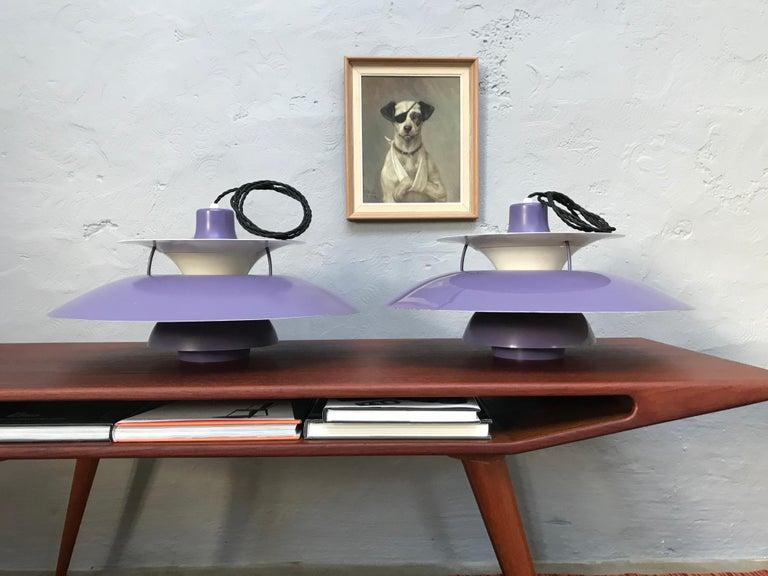 Rare Iconic Vintage 1959 Poul Henningsen PH 5 Chandelier Pendant Lamp For Sale 7