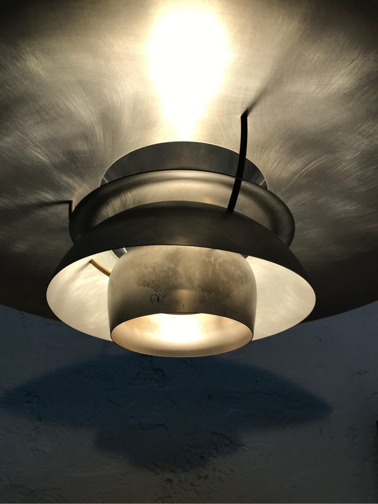 Hand-Crafted Rare Iconic Vintage 1959 Poul Henningsen PH 5 Chandelier Pendant Lamp For Sale