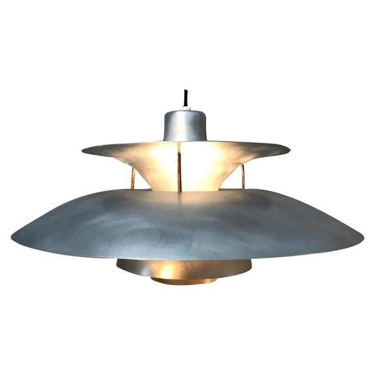 Rare Iconic Vintage 1959 Poul Henningsen PH 5 Chandelier Pendant Lamp For Sale