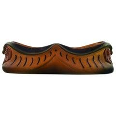 Rare Ipsen's Denmark Art Nouveau Ceramic Bowl