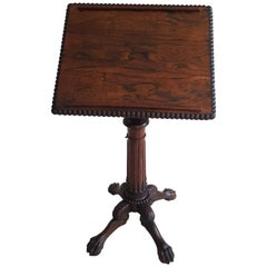 Rare Irish 18th Century Lectern or Artists Table