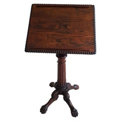 Rare Irish 18th Century Lectern or Artists Table