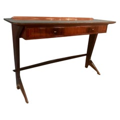 Rare Italian Mid-Century Modern Console Table in Rosewood, Ico Parisi