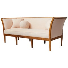 Rare Jacob Kjaer Sofa with 8 Tapered Legs