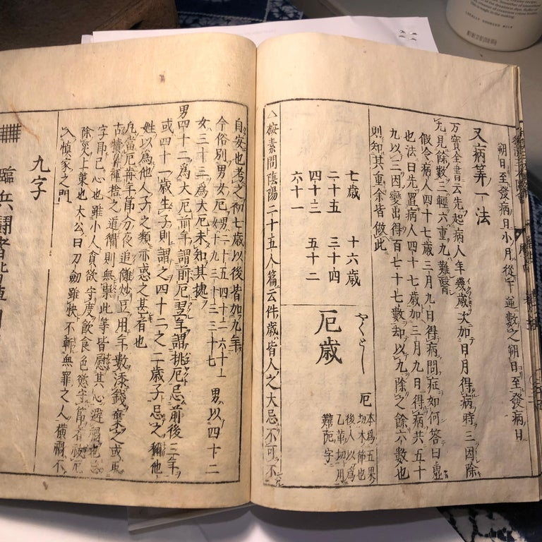 Japanese Feng Shui Antique Woodblock Book Wind Water Frameable Prints For Sale 9