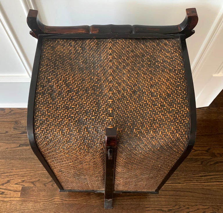 Rare Japanese Traveling Cabinet Oi Edo Period For Sale 1