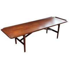Rare J.Clausen Teak Coffee Table, circa 1950s