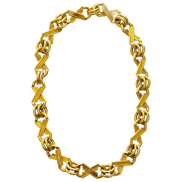 Jean Schlumberger for Tiffany & Co. 18 Karat Gold 105 Grams For Sale