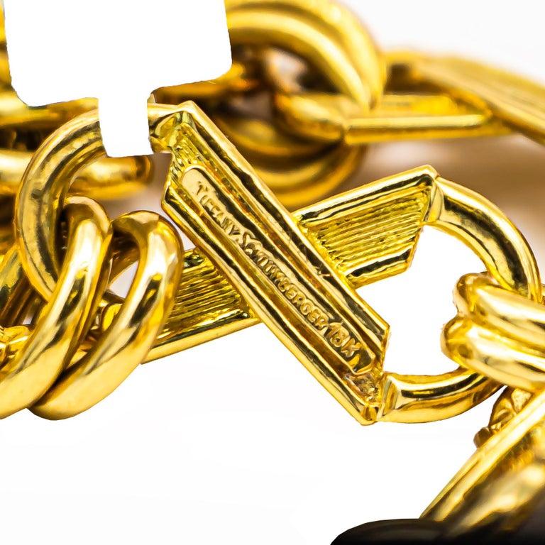 Women's or Men's Jean Schlumberger for Tiffany & Co. 18 Karat Gold 105 Grams For Sale