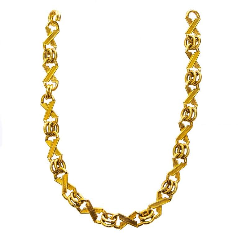 Jean Schlumberger for Tiffany & Co. 18 Karat Gold 105 Grams For Sale 1