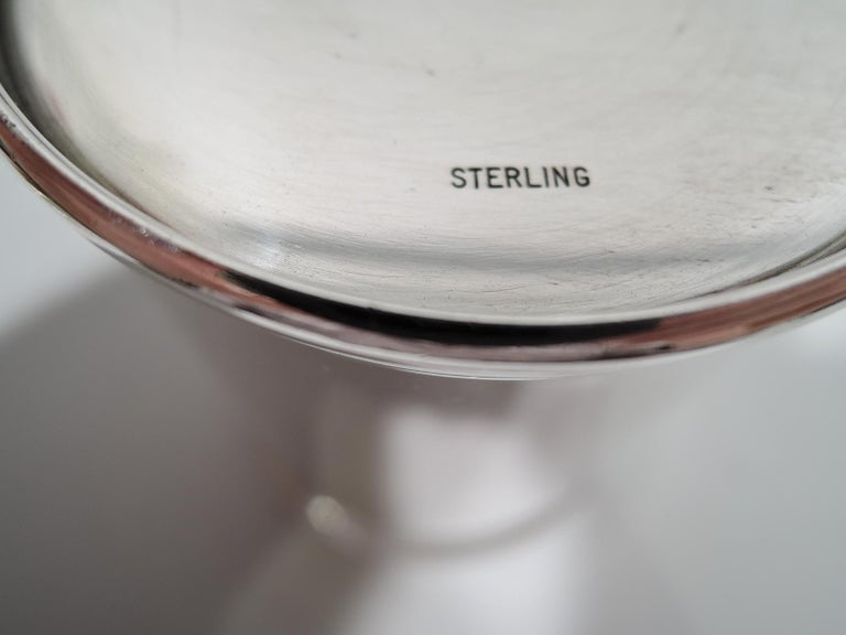 Mid-20th Century Rare JFK-Era Sterling Silver Mint Julep Cup by Scearce of Kentucky For Sale