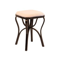 Rare J.&J. Thonet Stool, Late 19th Century, 1880 Original of the time