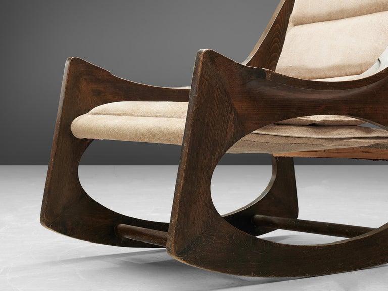 Rare Jordi Vilanova'Tartera' Rocking Chairs For Sale 1