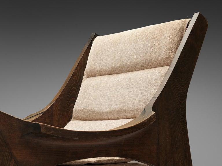 Rare Jordi Vilanova'Tartera' Rocking Chairs For Sale 2
