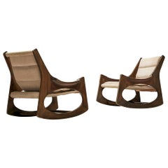 Rare Jordi Vilanova'Tartera' Rocking Chairs