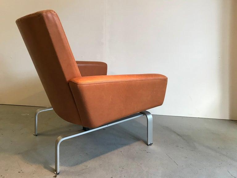 Mid-Century Modern Rare Jorgen Hoj Lounge Chair Vitsoe Design For Sale
