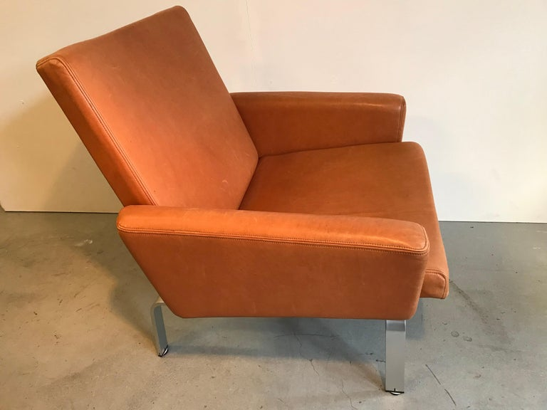 Danish Rare Jorgen Hoj Lounge Chair Vitsoe Design For Sale