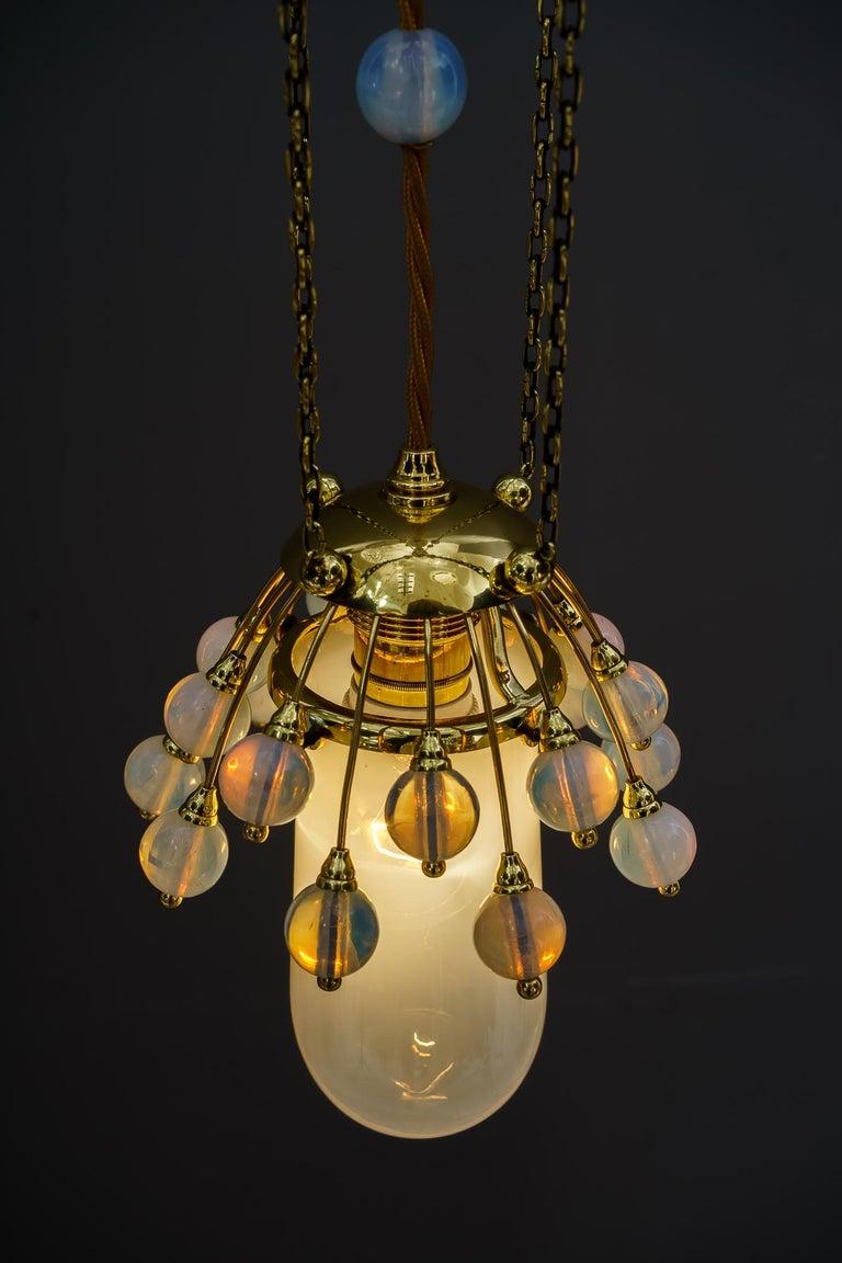 Rare Jugendstil Pendant, Vienna, 1910s For Sale 3