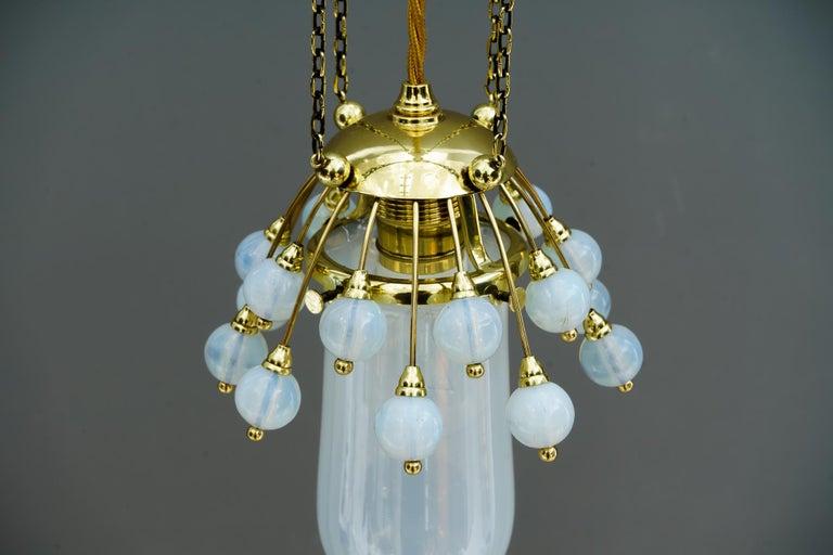 Rare Jugendstil Pendant, Vienna, 1910s For Sale 11