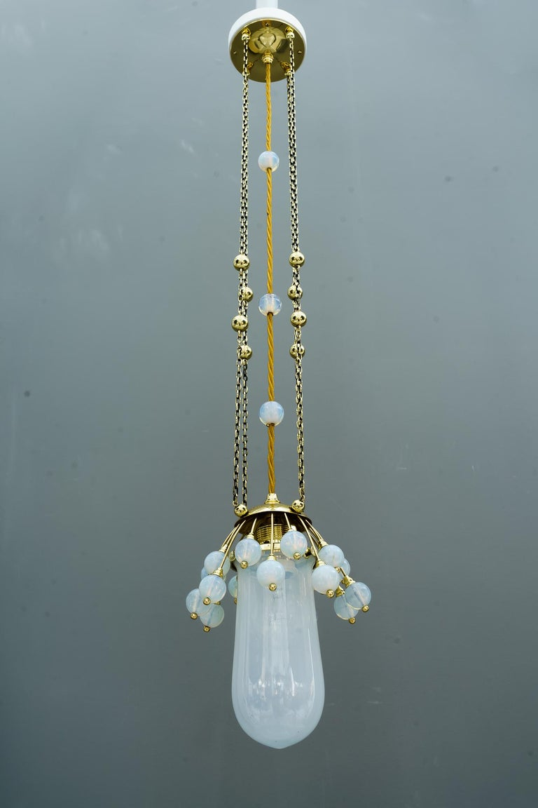 Rare Jugendstil Pendant, Vienna, 1910s In Good Condition For Sale In Wien, AT