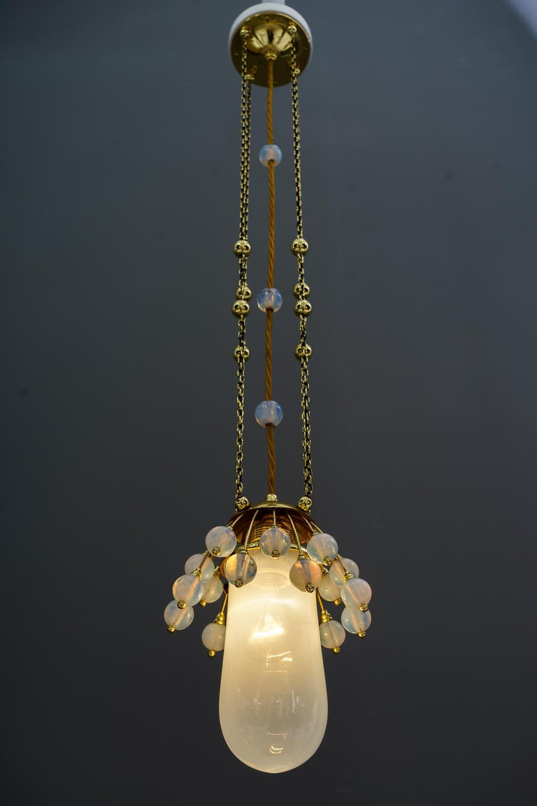 Early 20th Century Rare Jugendstil Pendant, Vienna, 1910s For Sale