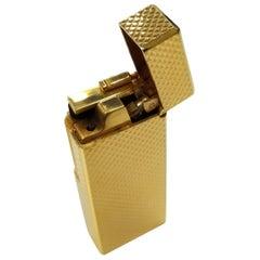 """""""Rare"""" Kardan Maruman Deluxe 22 Karat Gold-Plated Cigarette Lighter, Never Used"""