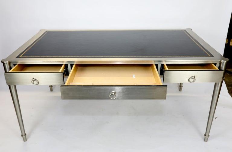 North American Rare Karl Springer Custom Designed Desk For Sale