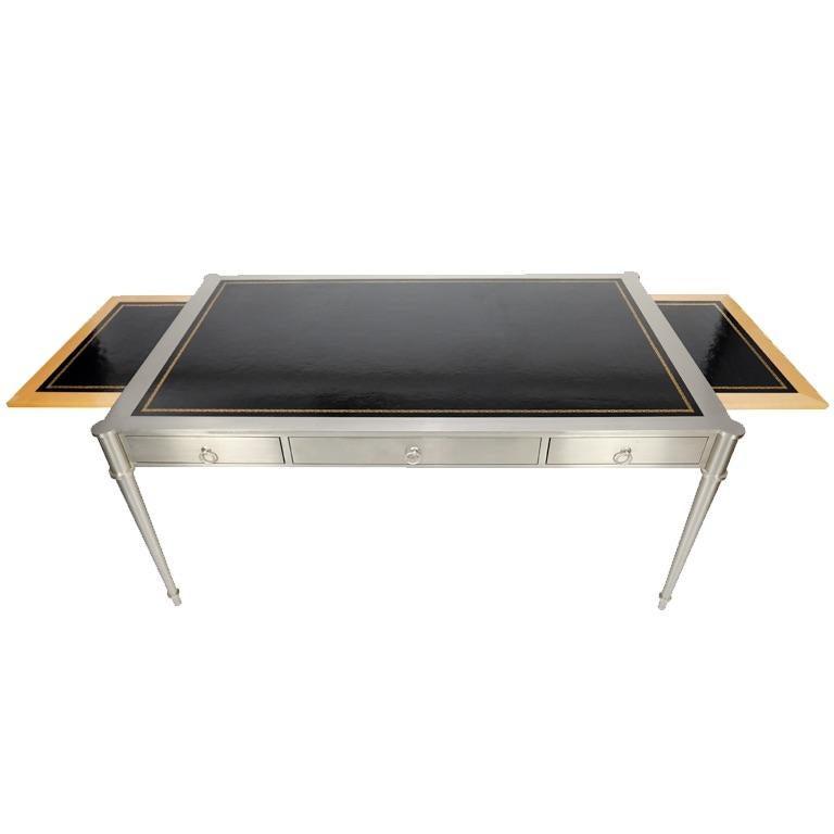 Late 20th Century Rare Karl Springer Custom Designed Desk For Sale