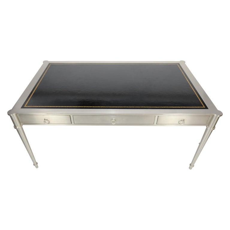 Rare Karl Springer Custom Designed Desk For Sale