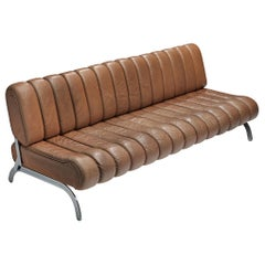 Rare Karl Wittmann Sofa in Cognac Leather