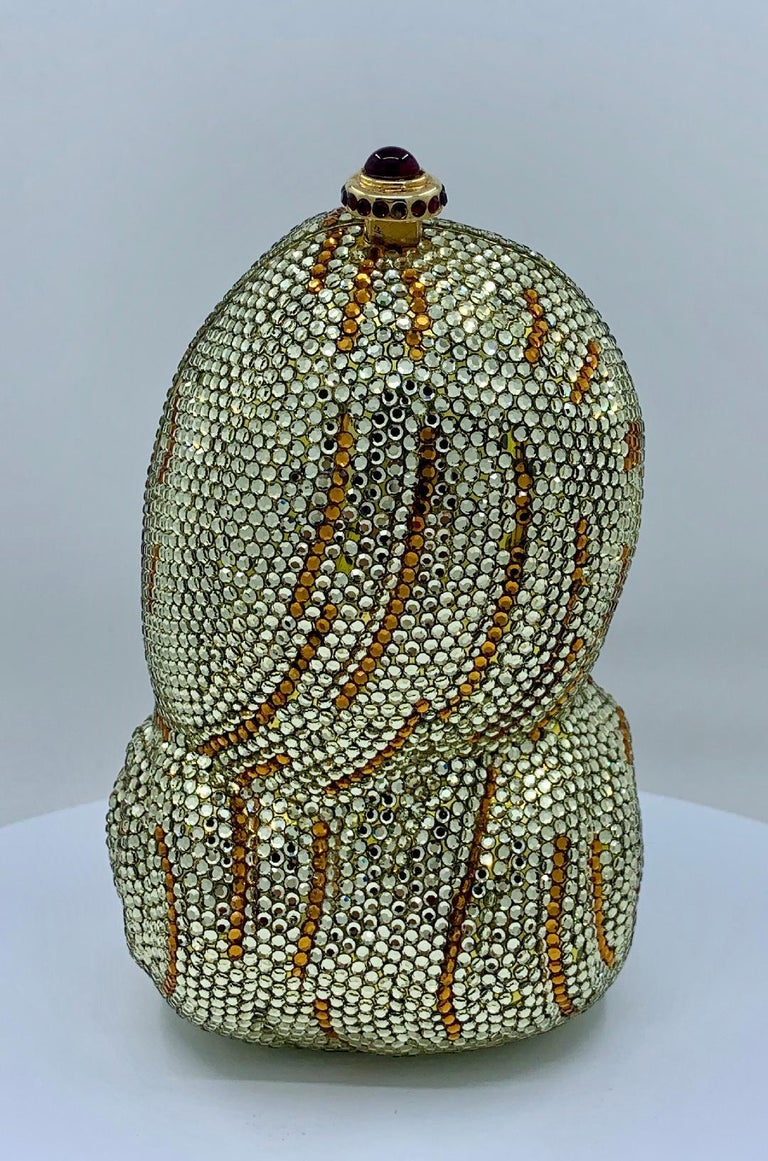 Rare Kathrine Baumann Beverly Hills Artist Proof Barbie Minaudiere Evening Bag In Good Condition For Sale In Tustin, CA