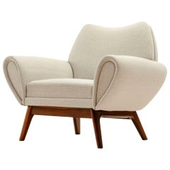 Rare Kurt Østervig Lounge Chair, Denmark, 1960s