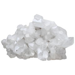 Rare Large Natural Rock Crystal Quartz Cluster