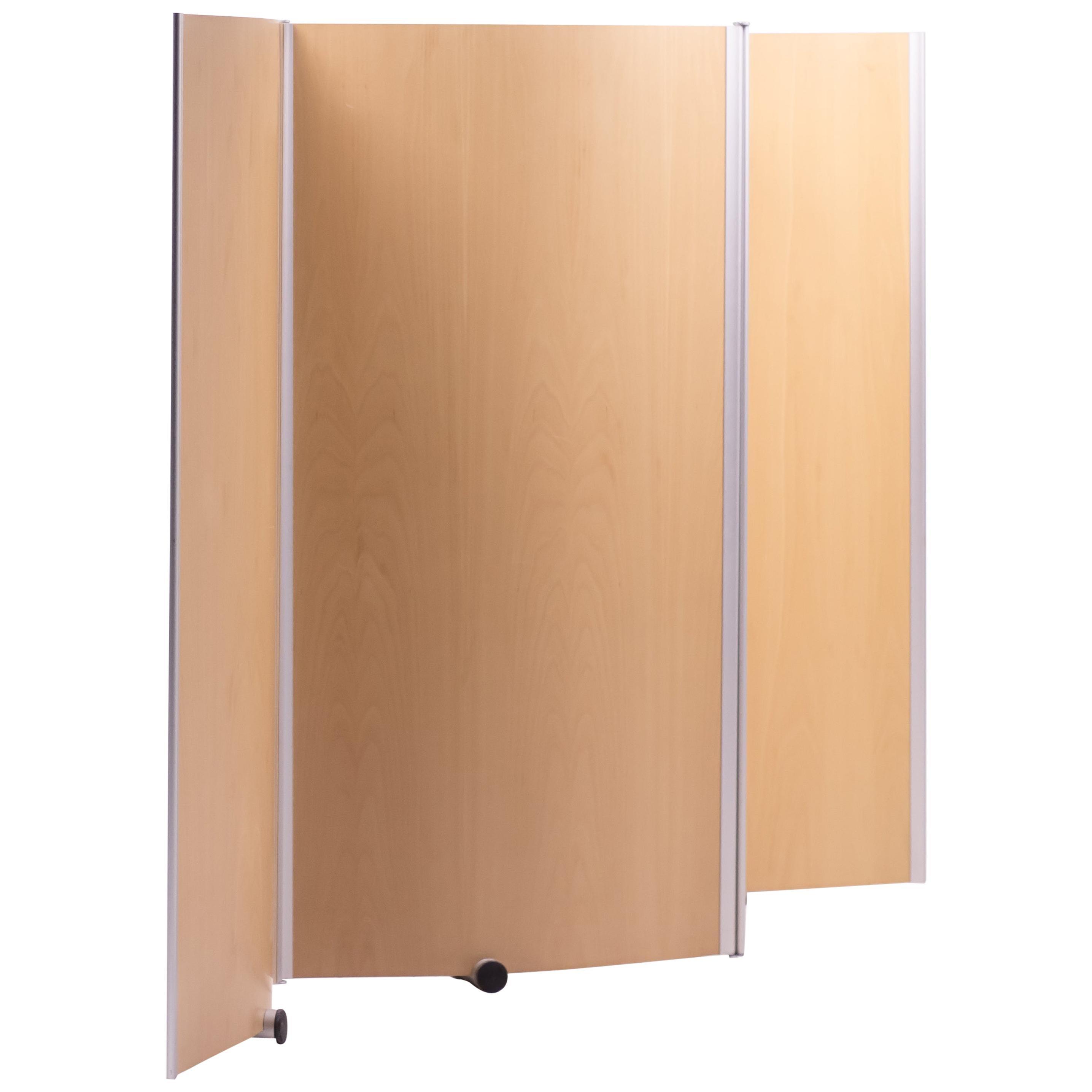Rare Large Plywood Screen by Studio Pelikan