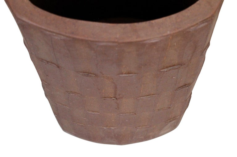 Pottery Rare Large Umbrella Stand by David Cressey For Sale