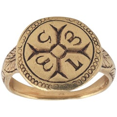 Rare Late Medieval Gold Ring