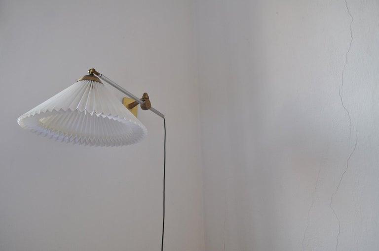 Rare Le Klint Wall Lamp Designed by Hvidt & Mølgaard in 1963 For Sale 4