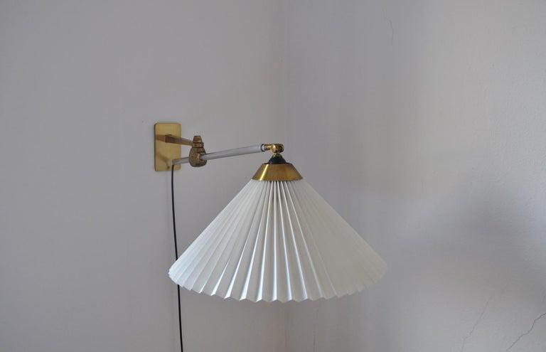 Rare Le Klint Wall Lamp Designed by Hvidt & Mølgaard in 1963 For Sale 5