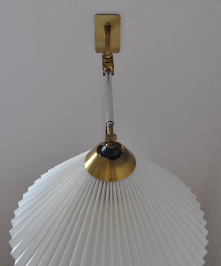 Rare Le Klint Wall Lamp Designed by Hvidt & Mølgaard in 1963 For Sale 9