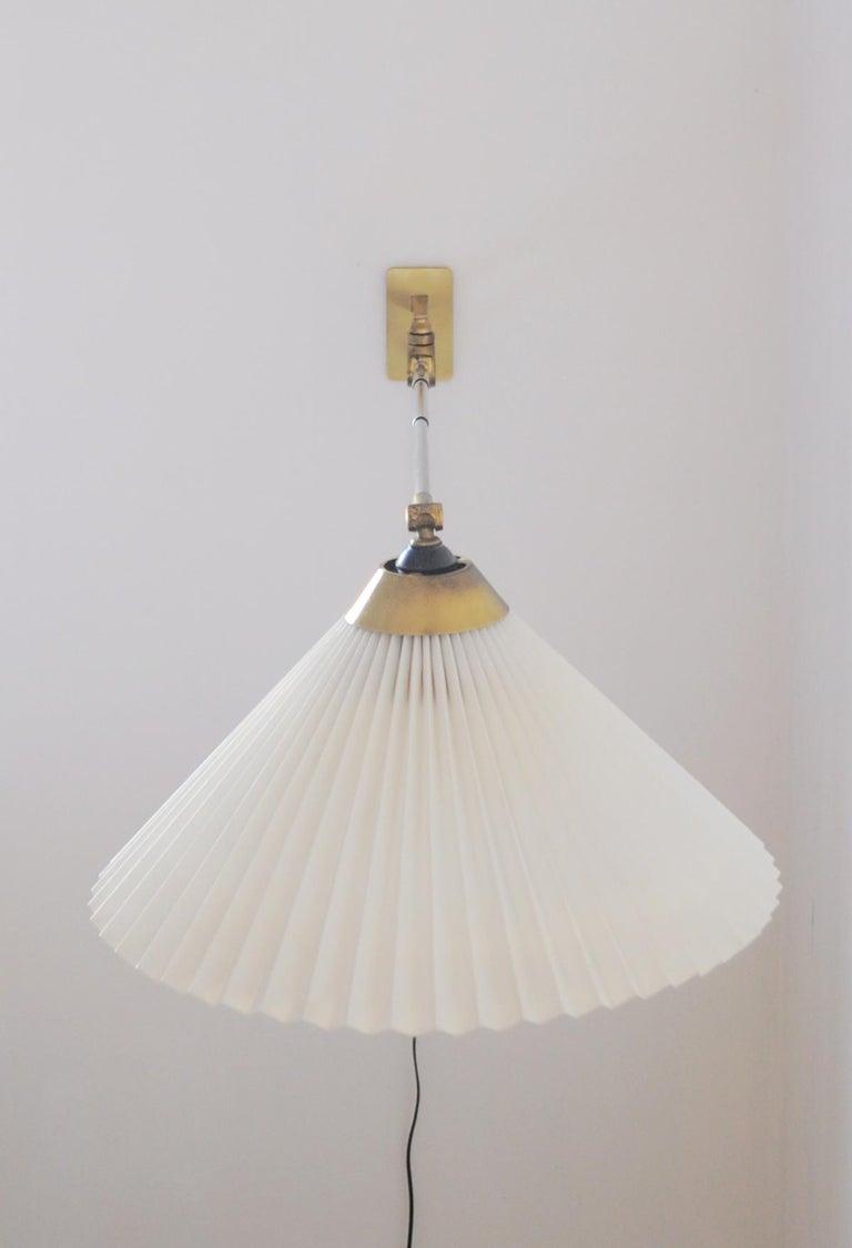 Danish Rare Le Klint Wall Lamp Designed by Hvidt & Mølgaard in 1963 For Sale