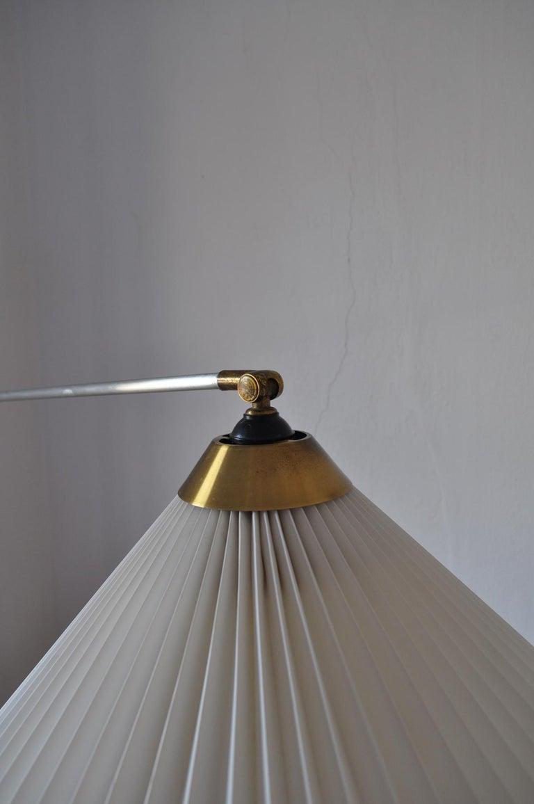 Metal Rare Le Klint Wall Lamp Designed by Hvidt & Mølgaard in 1963 For Sale