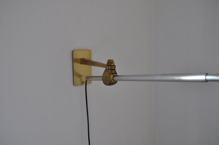 Rare Le Klint Wall Lamp Designed by Hvidt & Mølgaard in 1963 For Sale 1