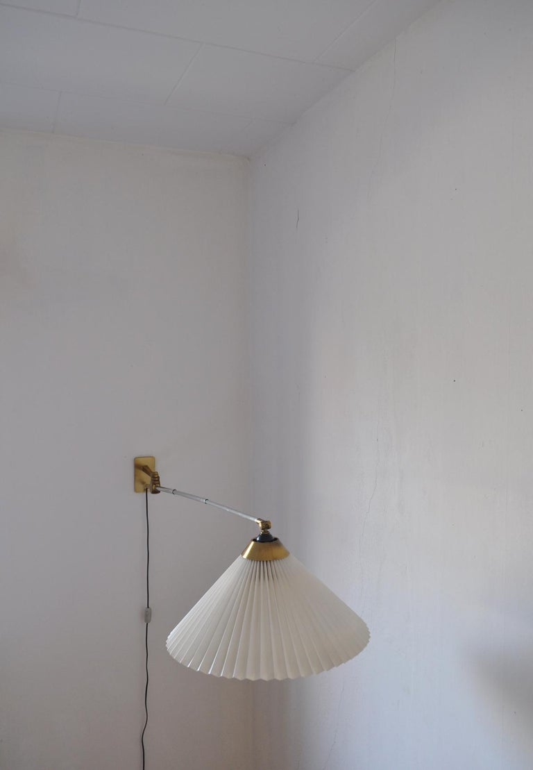 Rare Le Klint Wall Lamp Designed by Hvidt & Mølgaard in 1963 For Sale 2