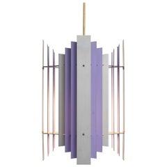Rare Lilac Pendant by Preben Dahl, 1960s