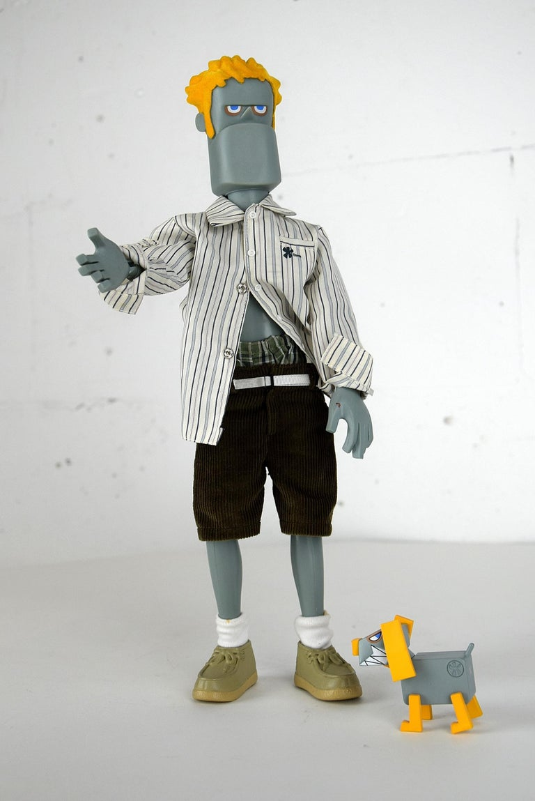 Hong Kong Rare Limited Edition Designer Toy Killjoy by Michael Lau For Sale