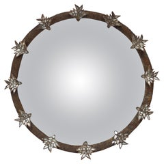 "Rare Line Vautrin ""Aux Alouettes"" Mirror, circa 1955"