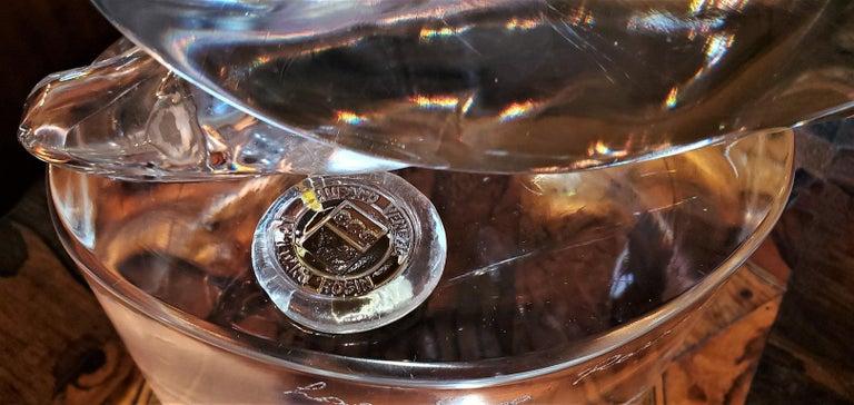 Rare Loredano Rosin Murano Glass Sculpture In Good Condition For Sale In Dallas, TX