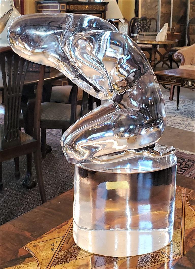 Rare Loredano Rosin Murano Glass Sculpture For Sale 1
