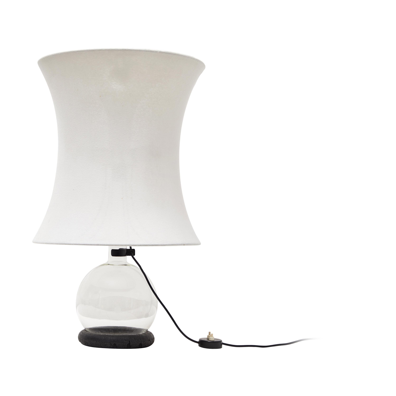 "Rare ""Lotus"" Table Lamp by Gianfranco Frattini for Meroni"