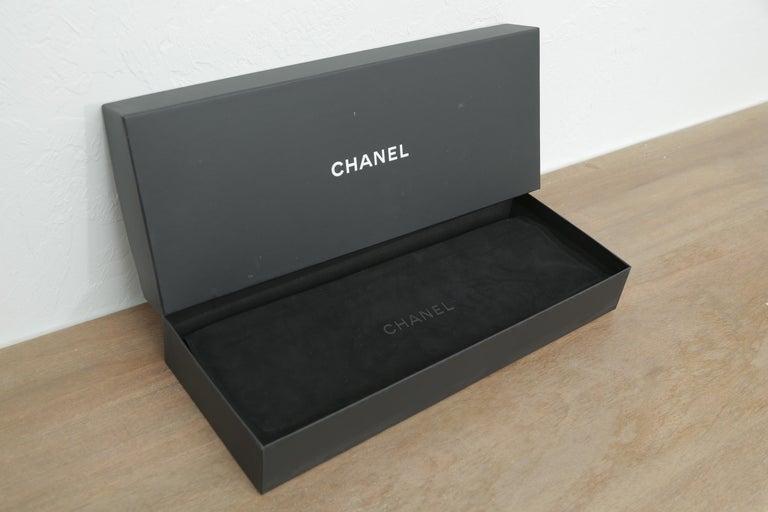 Black Rare Louis Vuitton Limited Edition Monogram Mink Scarf For Sale